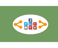 Floating social share