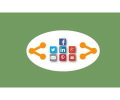 Floating social share